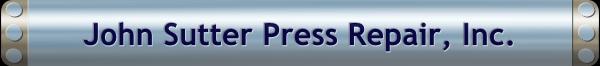 Printing Press Cylinder Repair